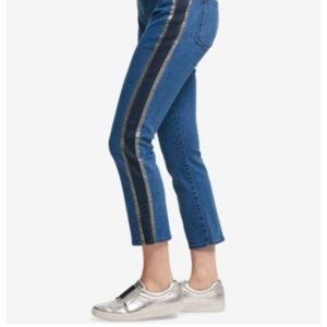 DKNY Denim Mid Rise Cropped Jeans NWT